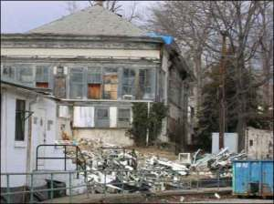 photo of derelict buildings in need of demolition to make way for something better