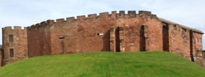 photo of corner of Chester Castle