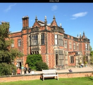 Arley Hall on Wedding Fair Day