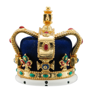 photo of ruby-encrusted Queen Elizabeth's crown