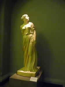 photo of sculpture by Sir William Thorncraft (1877) of Lot's Wife